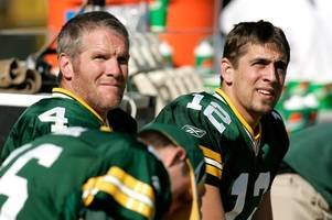 brett favre mocked by nfl fans after being 'baffled' by aaron rodgers' lack of turnovers