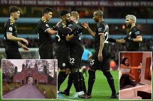 Man City star's partner 'reads riot act' after team's private party with 15 Instagram models