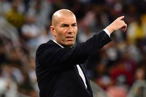 real madrid boss zinedine zidane admits transfer defeat over man utd's paul pogba