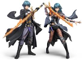 Super Smash Bros. Ultimate's next fighter is Fire Emblem's Byleth