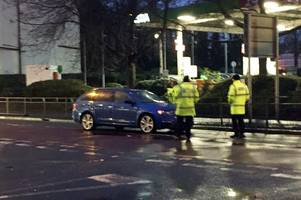 man 'seriously injured' after being hit by car near wolverhampton wanderers' molineux ground
