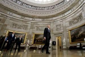 'Hear ye, hear ye!' Trump impeachment trial begins