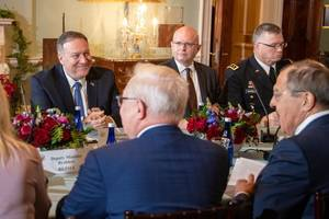 mike pompeo to attend libya conference in berlin: us state department