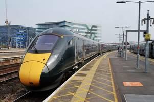 Storm Brendan flooding affects trains between Cardiff and London Paddington