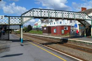 why this victorian railway footbridge in burry port is heading to a workshop in cardiff
