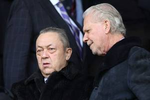 david moyes defends west ham's under-fire owners as protest planned ahead of everton
