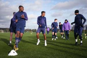 the tottenham youngster training with jose mourinho's first team ahead of watford clash