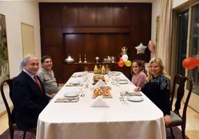 benjamin netanyahu celebrates cancer patient's 20th birthday
