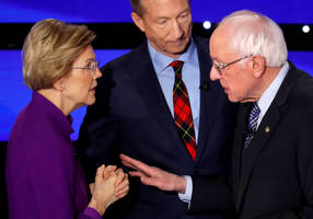 Elizabeth Warren told Bernie Sanders he called her a liar on national TV
