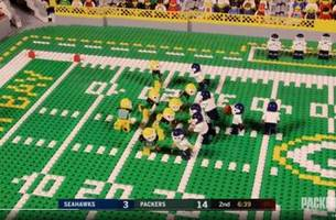 top tweets: 'everything is awesome' about packers' lego reenactment of playoff win