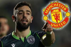 man utd chiefs in lisbon as crunch bruno fernandes transfer talks lead to fresh offer