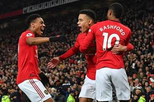 man utd front three can emulate ronaldo, rooney and tevez, says ole gunnar solskjaer