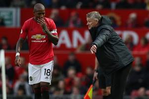 ole gunnar solskjaer discusses potential ashley young replacements at man utd