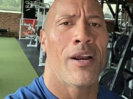 """The Rock Pens Must-Read Message About Dad's Death: """"The Boy You Raised W/ The Toughest Of Love"""""""