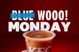 east kilbride kfc's to cheer up blue monday customers with free gravy