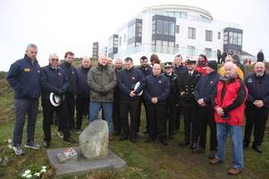 memorial services held to mark 20th anniversary of solway harvester tragedy