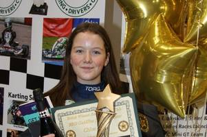 uk award for perth karting star chloe grant