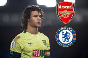 nathan ake latest: tottenham and arsenal lurking as chelsea 'drop interest' in bournemouth star