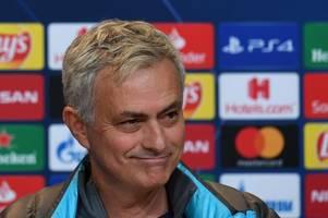 Tottenham press conference live: Jose Mourinho on Christian Eriksen, injuries and transfer news