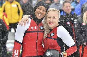 Humphries of US atop World Cup women's bobsled standings