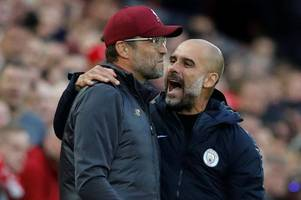 Pep Guardiola admits he's not watching Liverpool - because Man City can't catch them