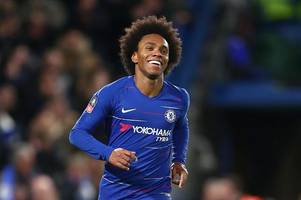 tottenham plot willian transfer deal seven years after being snubbed for chelsea