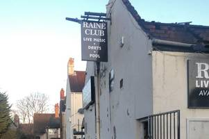 'my childhood has been destroyed' - sadness as hull's iconic raine club goes up in flames