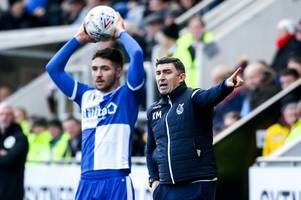 bristol rovers coach focusing on positives as winless run goes on with rotherham united loss