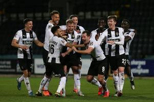 notts county v dover live: team news, build-up and action
