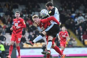 port vale v leyton orient live - all the action from vale park
