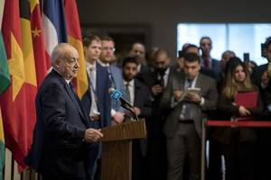 libya civil war: un envoy salamé says foreign intervention must end