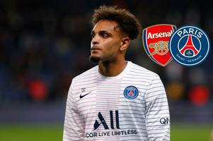 psg fans send worrying messages to arsenal supporters about layvin kurzawa after 'deal agreed'