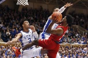 Johnson, No. 11 Louisville earn win at No. 3 Duke 79-73