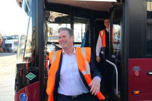 next stop number 10?:  what keir starmer had to say when he came to bristol