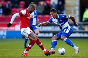 Bristol Rovers' stance on Jonson Clarke-Harris amid fresh interest from Charlton Athletic
