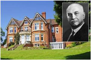 you could now live in this historic barnt green home - with its own golf course