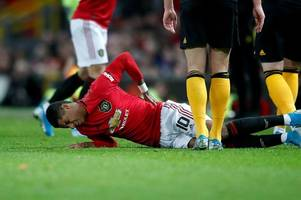 Manchester United learn true extent of Marcus Rashford injury after Wolves clash