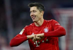 lewandowski strikes again as bayern go second in bundesliga