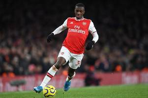 mikel arteta sends message to leeds over eddie nketiah's arsenal cameo in sheffield united draw