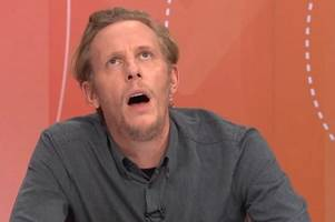 a video of laurence fox performing on jeremy vine has resurfaced and people are slating it