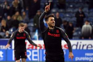 more than fifth of championship now linked with stoke city striker, including sheffield wednesday and birmingham