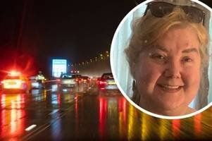 pensioner records goodbye video to family after m6 breakdown leaves her fearing for life