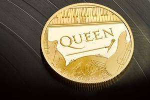 royal mint launches new queen coins featuring the band