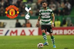 Sporting make Bruno Fernandes decision as Man United transfer talks continue amid Spurs links