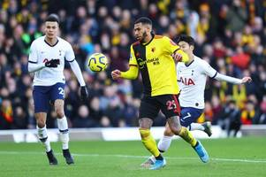 tottenham fans hammer two players following watford stalemate as paulo gazzaniga stars for spurs