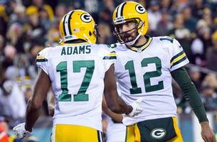 statuesday: where rodgers, adams rank in packers playoff history