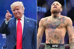 conor mcgregor divides ufc fans with twitter message to donald trump