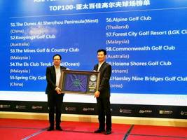 forest city's classic golf course named asia-pacific top 100 golf courses