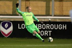 on the move - derby county keeper heads out on loan