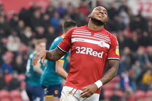 leeds united keen on middlesbrough forward previously linked with bristol city and aston villa